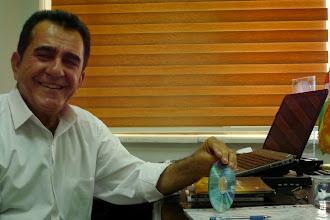 Photo: Karwan Abdulla, editor in chief of Mukriyani Publishing Hause, Erbil 2014