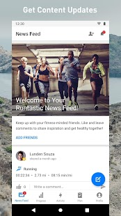 Runtastic Running App: Run & Mileage Tracker Screenshot