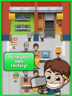 Idle Factory Tycoon- screenshot thumbnail