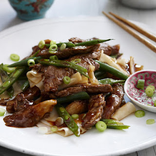 Beef and Green Bean Noodles.