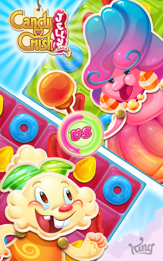 Candy crush jelly saga applications android sur google play