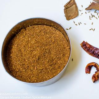 Garam Masala / Indian Spice Mixture Recipe