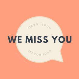 We Miss You - Instagram Post item