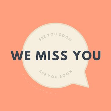 We Miss You - Instagram Post Template
