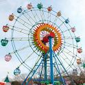 Theme Park Fun Swings Ride icon