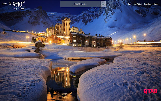Ski Resort Wallpapers Hd Theme