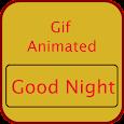 Gif GoodNight icon