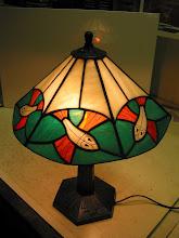 Photo: Escher vis lamp door Peter V.
