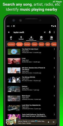 Screenshot for Free Music Download, Music Player, MP3 Downloader in Hong Kong Play Store