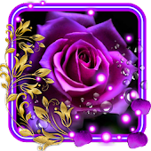 Purple Roses Live Wallpaper Android APK Download Free By SweetMood