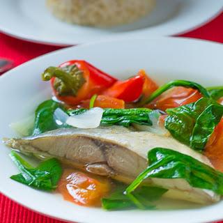 Fish Tinola Recipe or Tinolang Isda