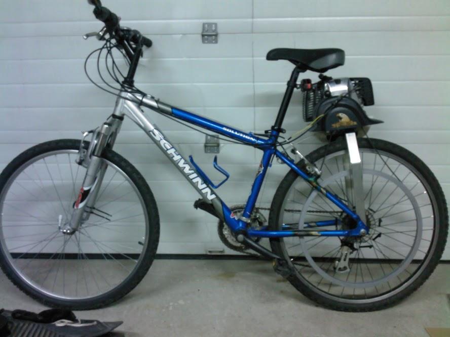 2-Stroke Gas Bike Build