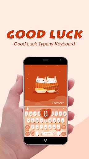 Good Luck Theme&Emoji Keyboard  screenshots 1