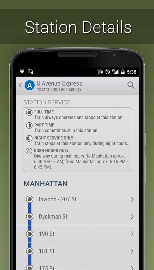 MyTransit NYC Subway Real Time- screenshot