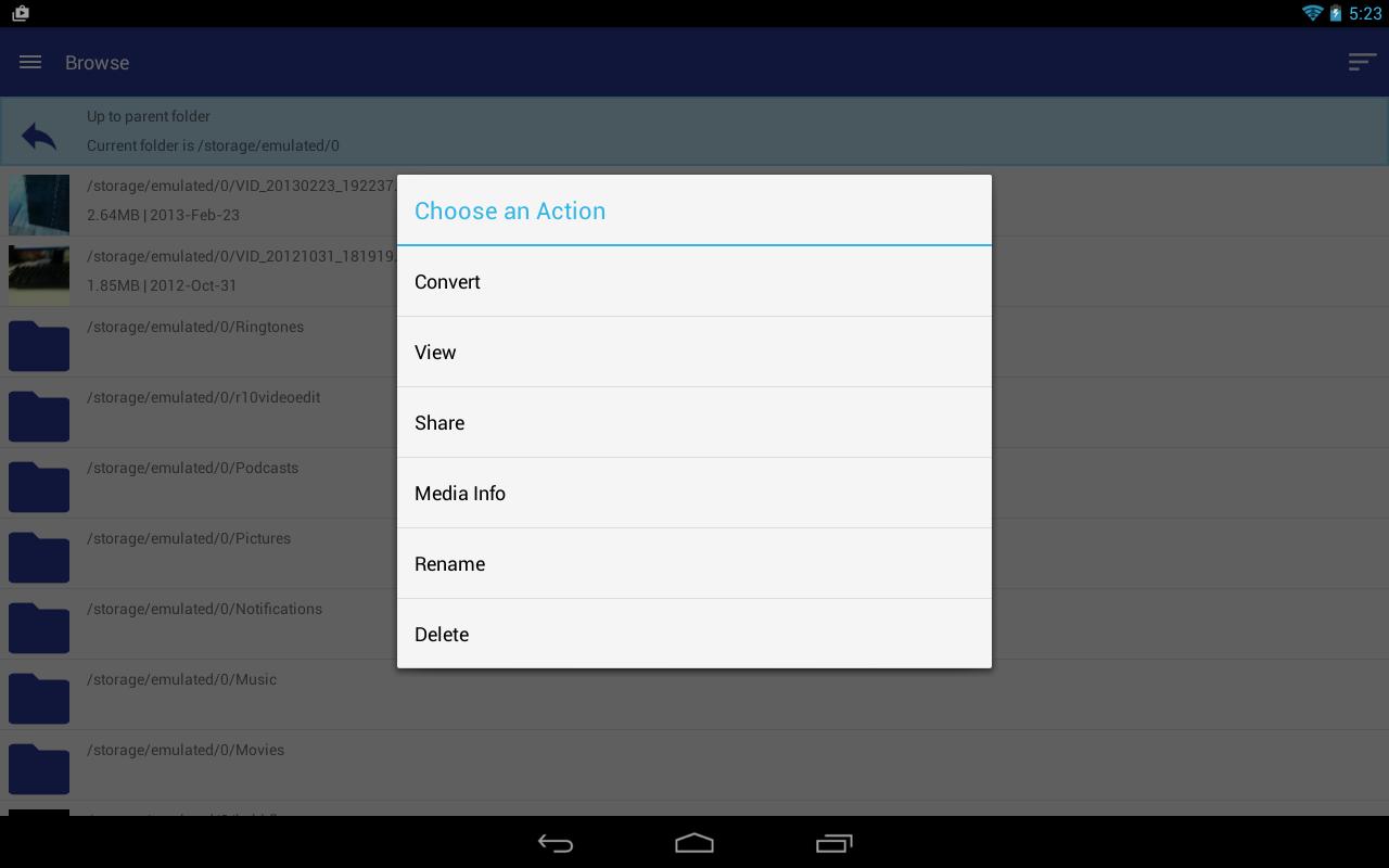 Video Converter Android 2 - screenshot