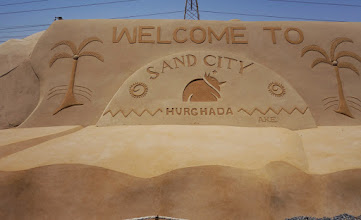 Photo: Everything at Sand City is made with sand!