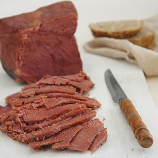 Slow Cooker Corned Beef in Ginger Beer.