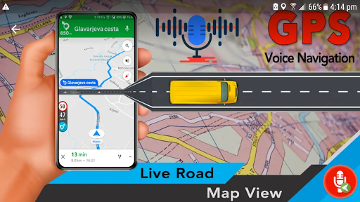 Voice GPS Driving Directions - GPS Maps Navigation 3.1.0 screenshots 6
