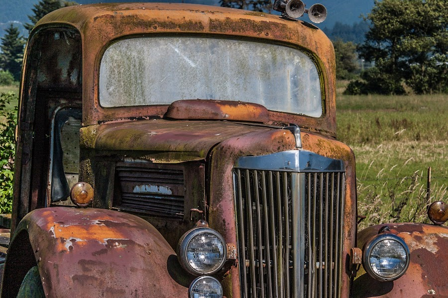 Needs Some Work by Craig Pifer - Transportation Automobiles ( old truck )