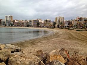Photo: Aguilas beach