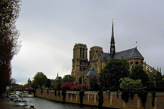 Photo: Notre Dame from across the Siene