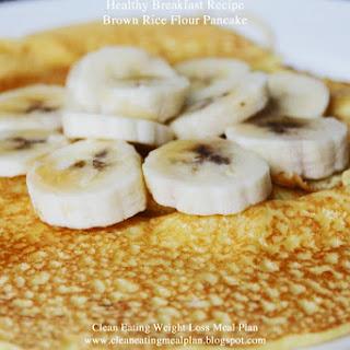 Brown Rice Flour Pancake.