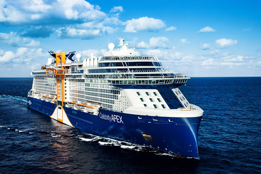 Sail on the 2,910-passenger Celebrity Apex to explore the Caribbean or Mediterranean.