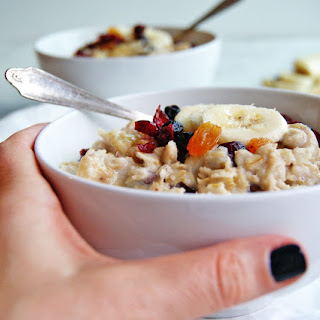 Fruit Soaked Oatmeal Recipe