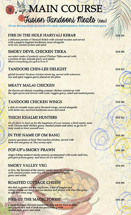 Bistro Claytopia menu 8