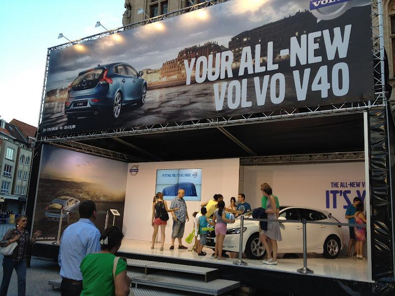 Photo: Volvo V40 @ Marktrock Leuven