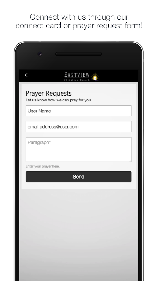 Eastview Christian Church- screenshot