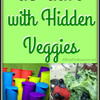 Homemade Yogurt Pops with Hidden Vegetables