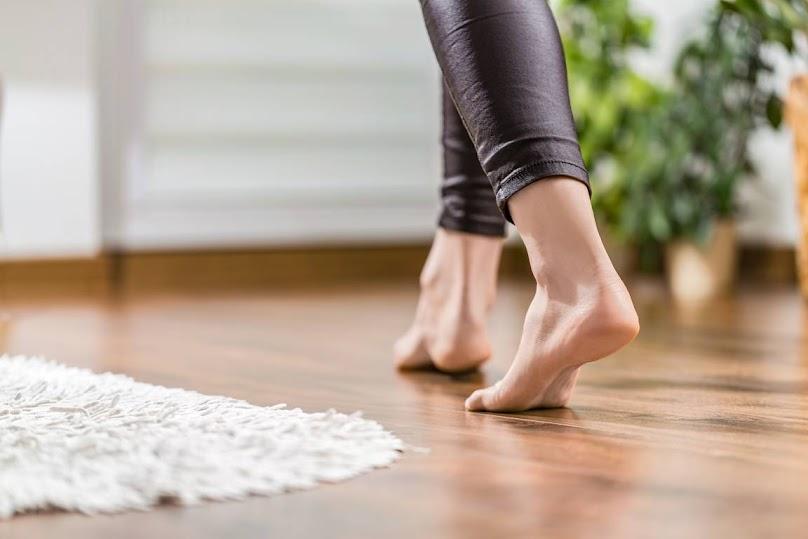 Ogrzewanie podłogowe zapewnia komfort cieplny