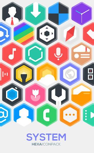 hexa icon pack : hexagonal screenshot 3