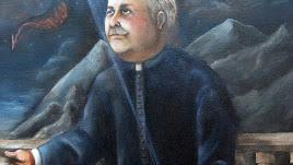 Imagen de Juan Ibáñez presente en las estampas preparadas para la ceremonia.