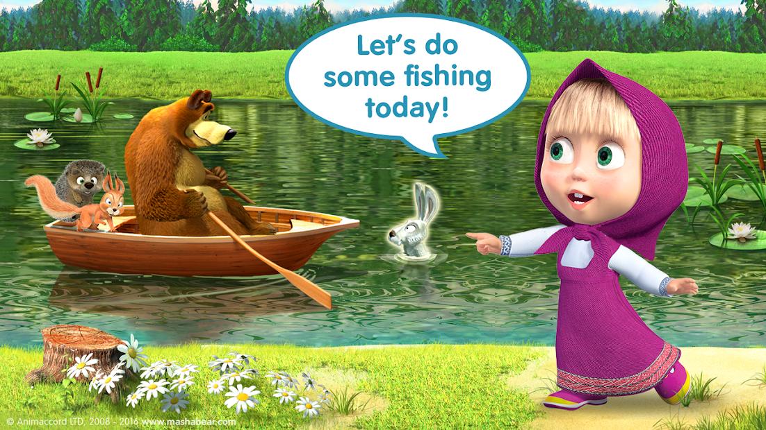 Masha and the Bear Child Games screenshot 2
