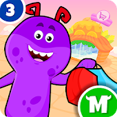 My Monster Town - Supermarket Grocery Store Games Android APK Download Free By IDZ Digital Private Limited