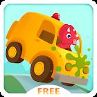 Dinosaur Car Painting Free icon
