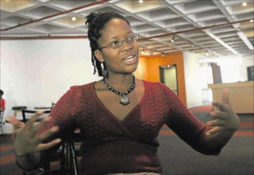 WORRIED: Ntsako Mkhabela is a playwright and director of Miyela. PHOTO: VELI NHLAPO