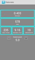 Screenshot of Pedometer - caloriecounter