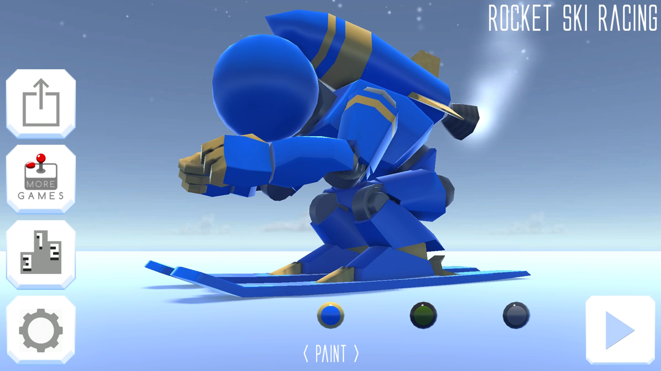 Rocket Ski Racing- screenshot