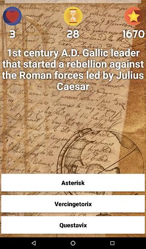 History & Culture Trivia - Demo android2mod screenshots 13