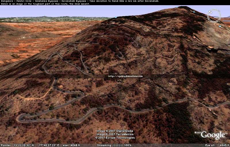 Nandi Hills Route