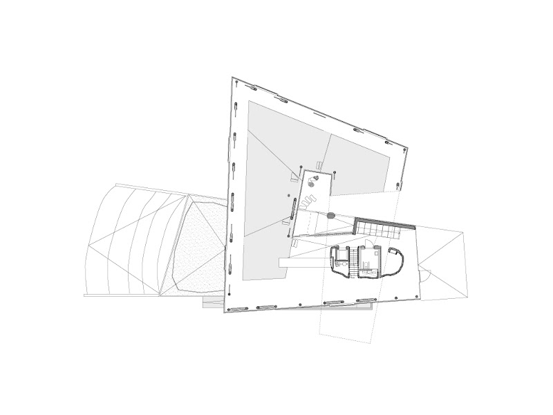 Photo: Posbank Pavilion - Posbank Pavilion - Ground Level Floor Plan