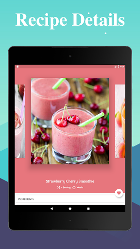 Smoothie Recipes: 500+ Healthy Smoothies - screenshot