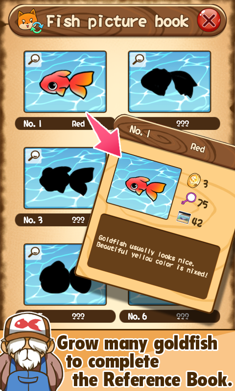 Goldfish collection android apps on google play for How do you play go fish card game