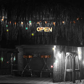 Reggae Nights by Cindy Walker - Novices Only Objects & Still Life ( tiki, party, bar )