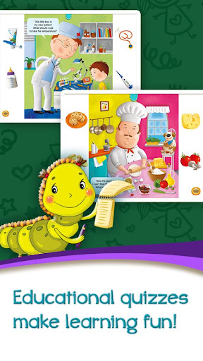 Azbooks - kid's fairy tales, songs, poems & games screenshot 3