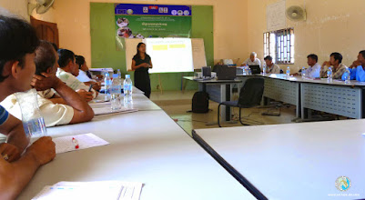 Photo: Ms. Keo Kaneka, Policy & Communication Officer, SRI-LMB project