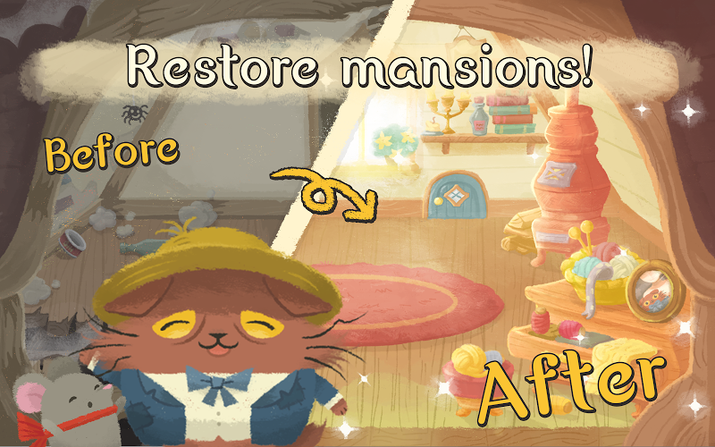 Cats Atelier - Days of van Meowogh: A Meow Match 3 Screenshot 4